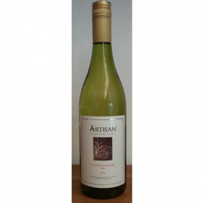 WINE BOTTLE ARTISAN CHARDONNAY